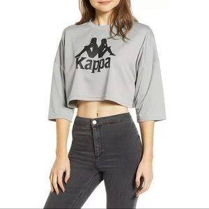 Kappa Active Crop Mesh Tee